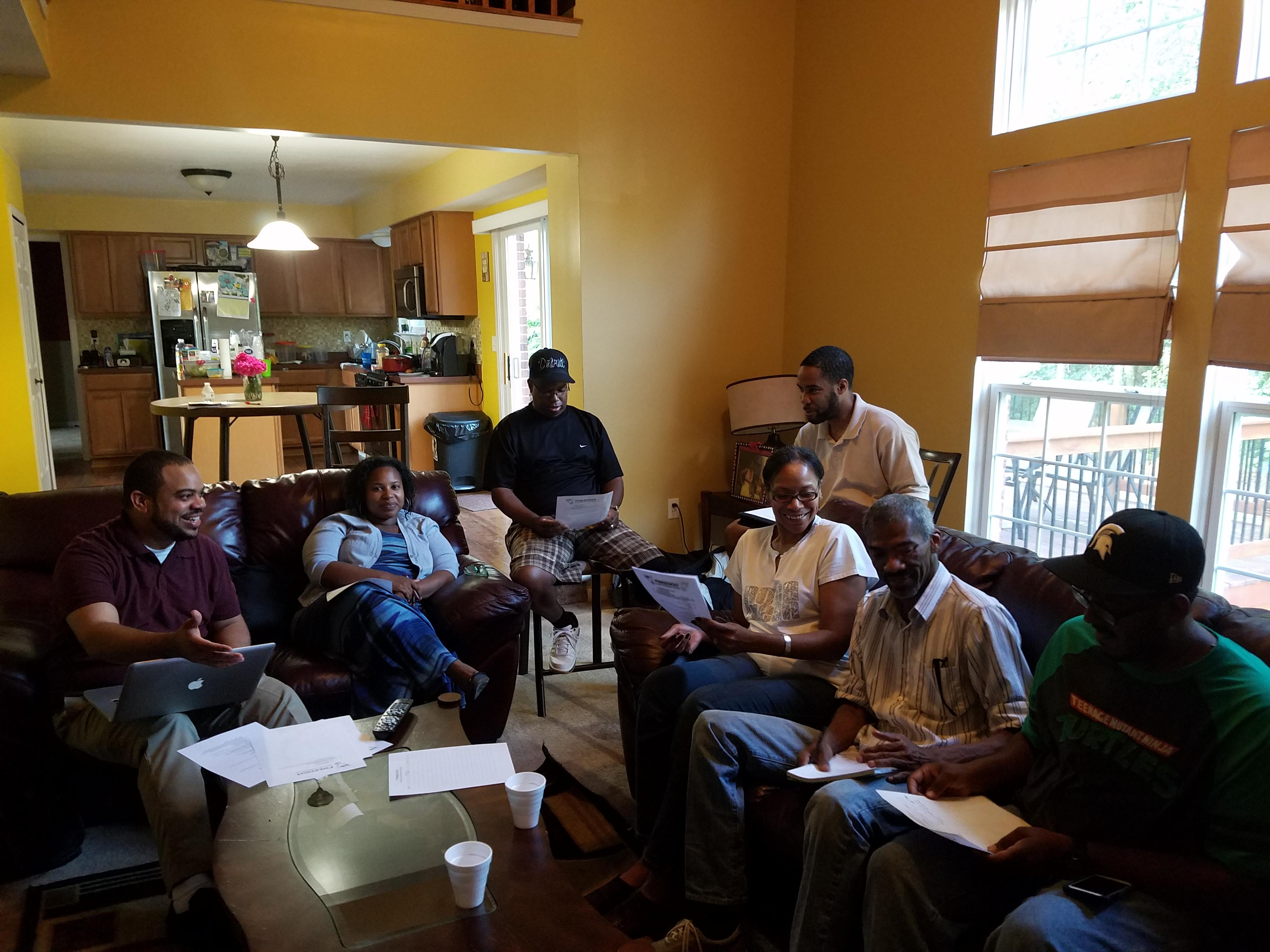Freedom Church Launch Team Meeting